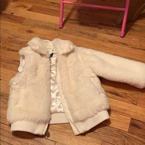 GAP Jackets & Coats - Gap kids fur jacket/vest